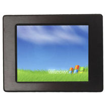 Monitor con pantalla táctil resistiva / LED / 800 x 600 / empotrable