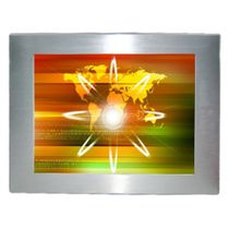 Panel PC retroiluminación LED / de LCD / 1024 x 768 / Intel® Atom N2600