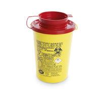 Contenedor de basura de plástico / para desperdicios médicos