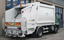 Camión de basura carga trasera