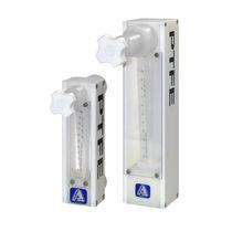 Caudalímetro de área variable / para agua / para fluidos corrosivos / robusto