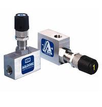 Válvula de aguja / manual / dosificadora / para aire