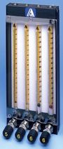 Caudalímetro para gas / para líquido / de área variable / de lectura directa