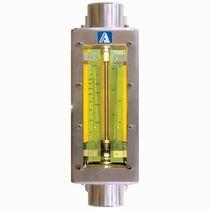 Caudalímetro de área variable / para aire / para agua / de lectura directa