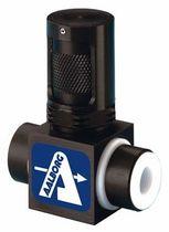 Válvula de aguja / dosificadora / para aire / para gas