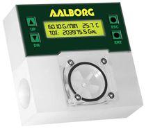 Caudalímetro para líquido / de rotor / programable / económico