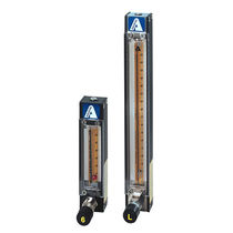 Caudalímetro para gas / para líquido / de área variable / de precisión
