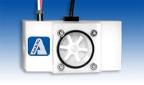 Caudalímetro de rotor / para líquido / de montaje vertical / de polipropileno