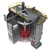 Mezcladora de rotor y estator / continua / para la industria minera / vertical