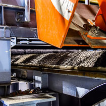 Transportador de banda / para la industria metalúrgica / para pellets