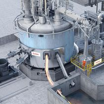 Horno de fusión / de foso / eléctrico / en atmósfera controlada
