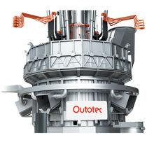 Horno de fusión / eléctrico / giratorio / para la metalurgia