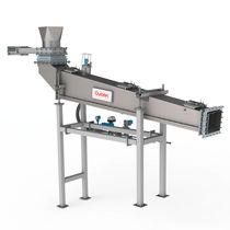 Transportador para alimentación de máquinas / de aire / de tornillo / para la industria metalúrgica