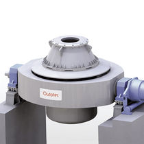 Horno de fusión / giratorio / para la metalurgia / para metal no ferroso