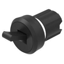 Interruptor mecedor / de palanca / unipolar / de plástico