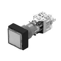 Botón pulsador 2 polos / estándar / acción momentánea / electromecánico