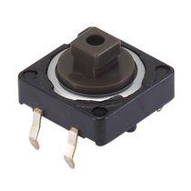 Botón pulsador unipolar / acción momentánea / electromecánico