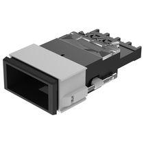 Botón pulsador unipolar / estándar / luminoso bicolor / electromecánico