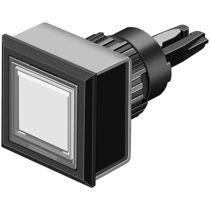 Botón pulsador unipolar / estándar / con luz / electromecánico