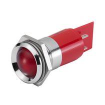 Indicador luminoso permanente / LED / montado en panel / IP67