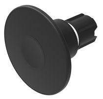 Botón pulsador de seta / unipolar / acción momentánea / electromecánico