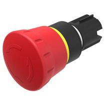 Interruptor con cabeza fungiforme / unipolar / para actuador / redondo