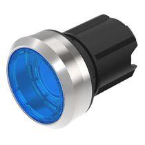 Botón pulsador con luz / acción momentánea / redondo / IP67
