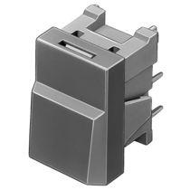 Botón pulsador unipolar / con luz / de corte / IP67