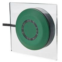 Botón pulsador unipolar / con luz LED / doble / acción momentánea