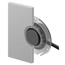 Botón pulsador unipolar / con luz LED / acción momentánea / IP67