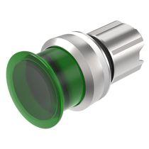Botón pulsador de seta / con luz LED / acción momentánea / IP67