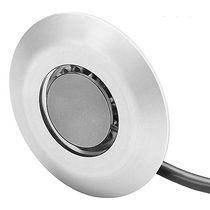 Botón pulsador unipolar / estándar / de aluminio / acción momentánea