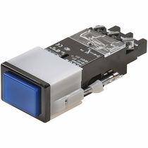 Botón pulsador unipolar / estándar / electromecánico