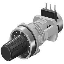 Potenciómetro rotativo / manual / electrónico / de control