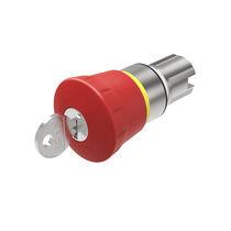 Interruptor de llave / de seta / unipolar / redondo