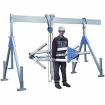 Pórtico para taller / de aluminio / monorriel