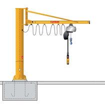 Grúa pluma de columnas / con control eléctrico / triangular