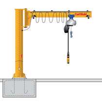 Grúa pluma de columnas / con control eléctrico / invertida