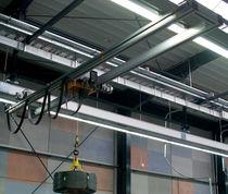 Puente grúa de riel doble / de aluminio / de altura perdida