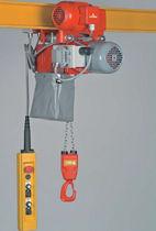 Polipasto de cadena eléctrico / para uso intensivo / compacto / de altura perdida