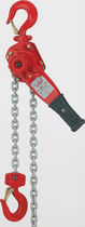 Polipasto de cadena de palanca / doble / compacto