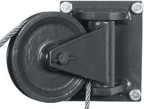 Polea pivotante / para cable / cojinete