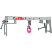 Plataforma de gancho para acople con carretilla elevadora