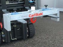 Plataforma de gancho de aluminio / para acople con carretilla elevadora