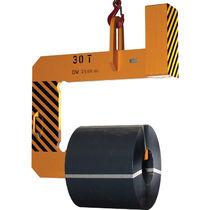 Gancho de elevación / tipo C / para bobinas / para grandes cargas