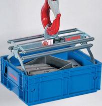 Rezón de elevación de carga mecánico / de cajas