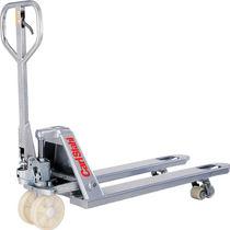 Transpaleta manual / de manipulación / de seguridad / de acero galvanizado