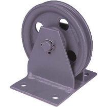 Polea con ruedas / para cable / vertical