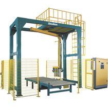Envolvedora con brazo giratorio / automática / de palés / con transportador