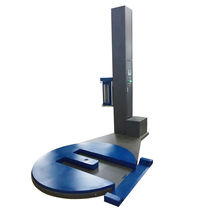 Enfundadora para carretillas de manejo de materiales / semiautomática / de film estirable / vertical